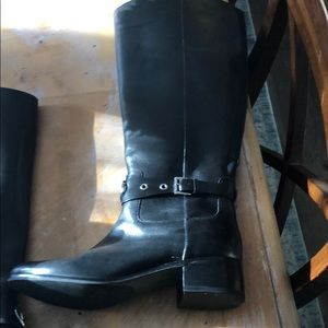 Michael Kors Shoes - MK riding boots/black